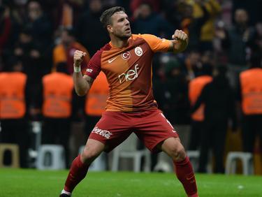 Lukas Podolski hat beim Sieg von Galatasaray getroffen