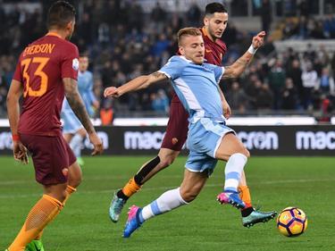 Ciro Immobile trifft im Pokal-Derby zwischen Lazio und dem AS Rom