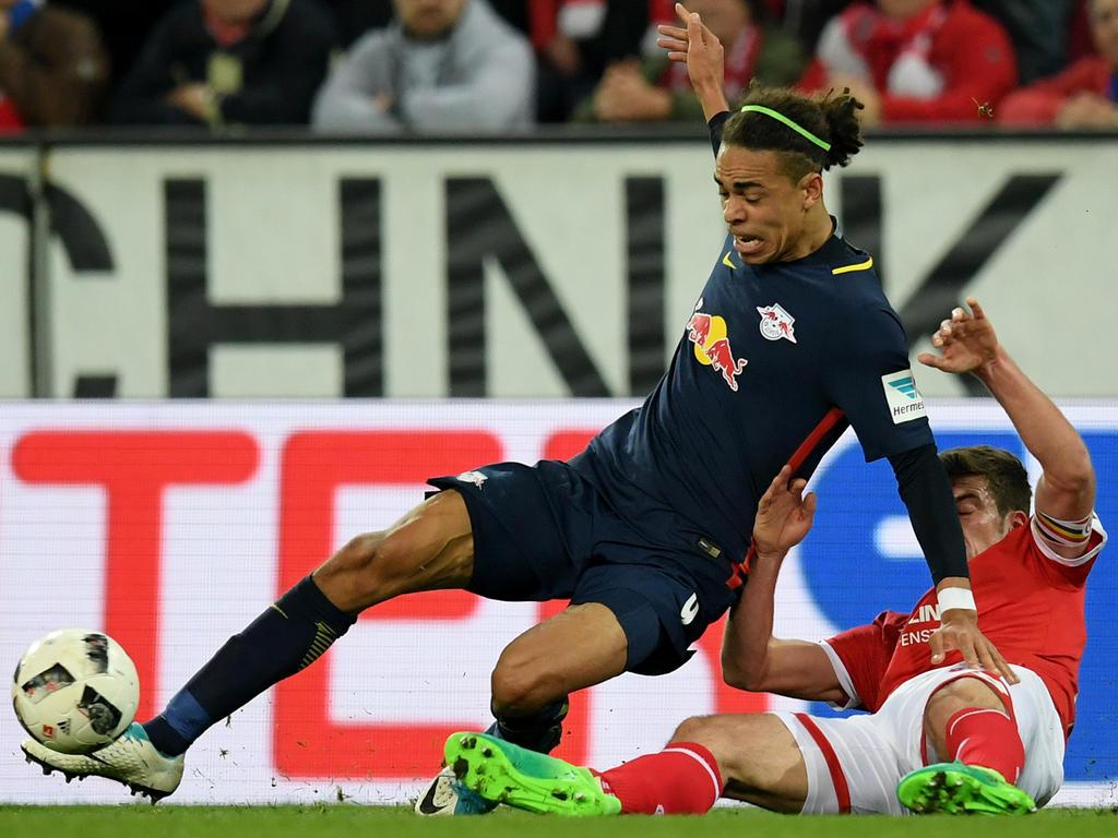 Platz 12: Yussuf Poulsen (RB Leipzig)