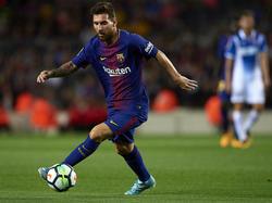 Erzielte drei Treffer gegen Espanyol: Lionel Messi