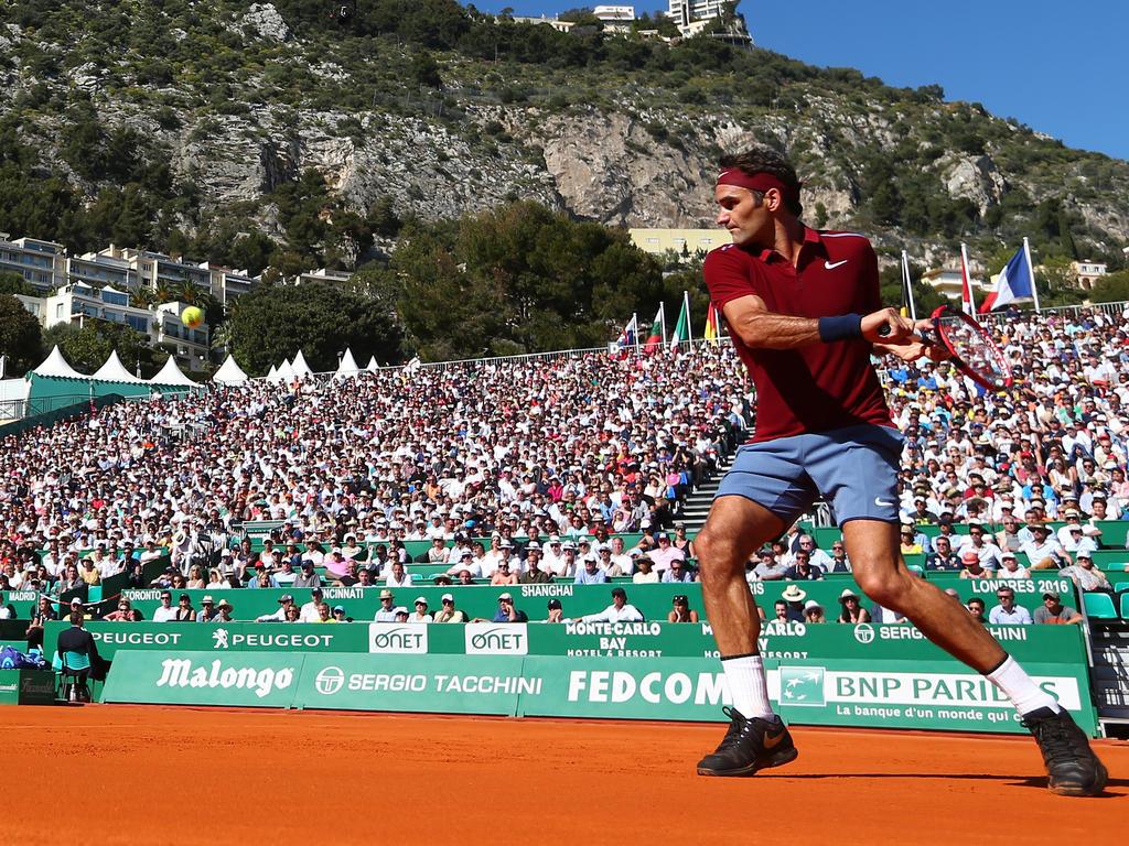 Federer meldete sich in Monaco mit Sieg zurück