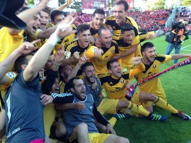 CA Osasuna ist nach zwei Jahren wieder erstklassig (Bildquelle: CA Osasuna/twitter)