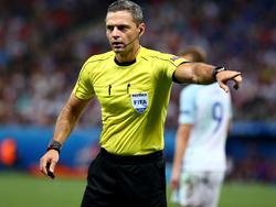 Damir Skomina pfeift das Spiel der Borussia
