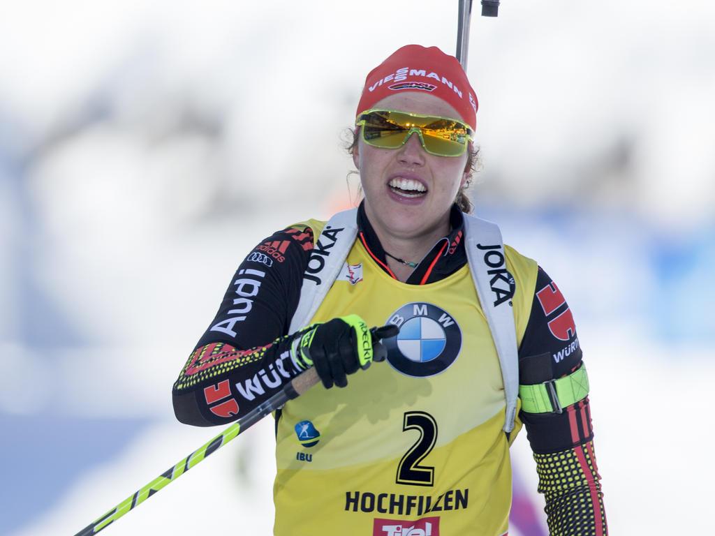 Laura Dahlmeier war bei der WM die Medaillen-Garantin für Deutschland