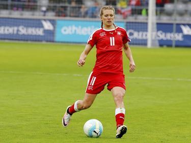 Lara Dickenmann erzielte das Goldtor