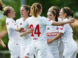 Die FC-Frauen sind zurück in der Bundesliga