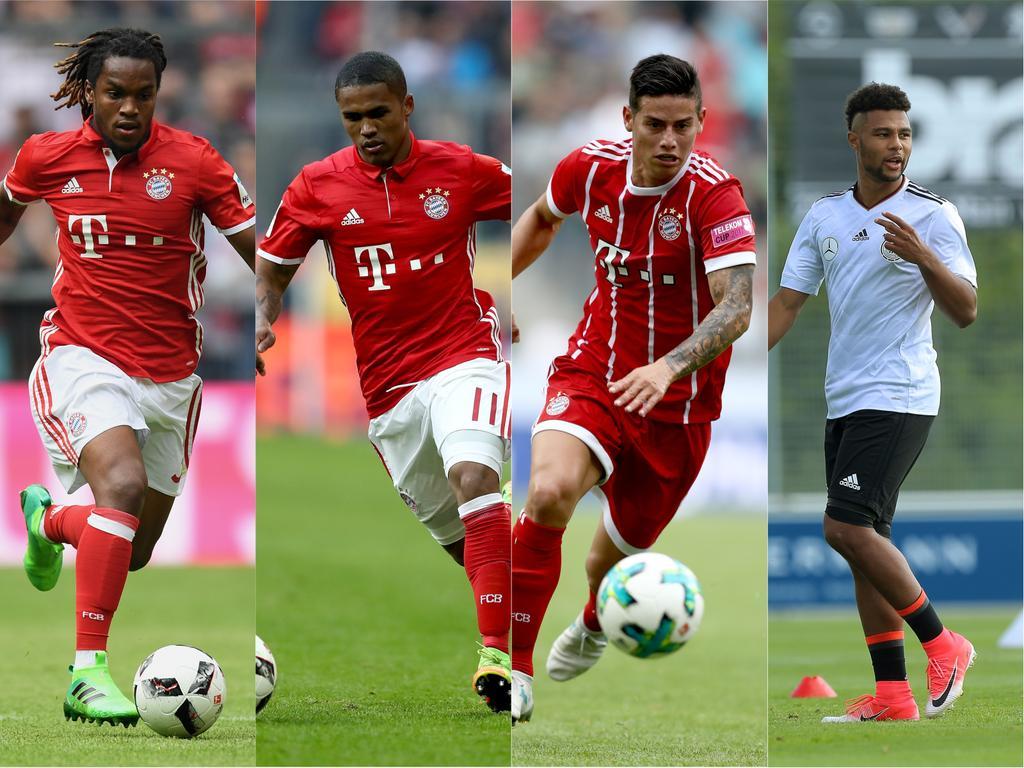 Sanches, Costa, Rodríguez und Gnabry: Bayern leiht gern