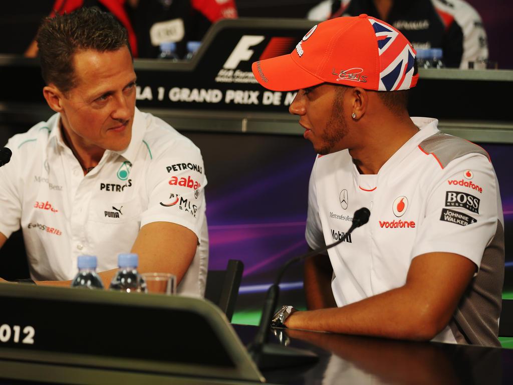 Lewis Hamilton (re.) zählt schon jetzt zu den erfolgreichsten Fahrern der Formel 1