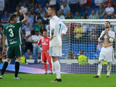 El Madrid cayó derrotado contra el Betis en el último suspiro. (Foto: Getty)