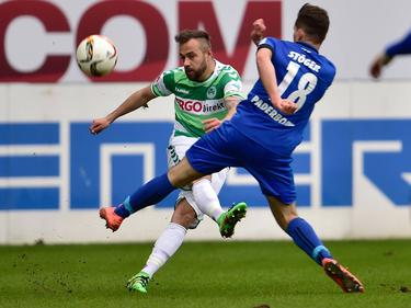 Weiterhin für Fürth im Einsatz: Sebastian Heidinger (l.) hat verlängert