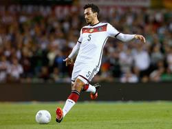 Mats Hummels steht im Kader für die Testspiele gegen England und Italien