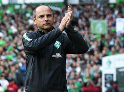 Ob Skripnik auch in der kommenden Saison in Bremen auf der Bank sitzt, entscheidet sich Freitag