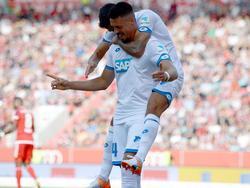 Sandro Wagner besorgte die zwischenzeitliche 1:0-Führung für die TSG