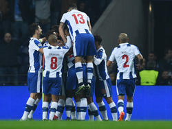 El FC Porto celebrando un gol la pasada Champions League (Foto: Getty)