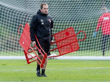 Trainer Manuel Baum und der FCA sind gegen Hannover nicht über ein Remis hinausgekommen