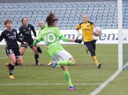 v li Anja Mittag VfL Wolfsburg 41 Susann Utes FF USV Jena 6 Tessa Wullaert VfL Wolfsburg