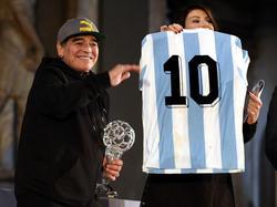 Para muchos, Maradona fue el mejor jugador de la historia. (Foto: Getty)