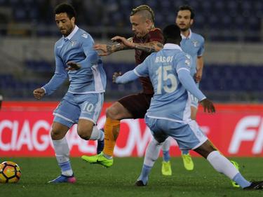 La Lazio ha conseguido una buena ventaja para la vuelta. (Foto: Getty)