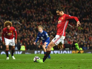 Zlatan Ibrahimović bescherte United den Last-Minute-Punkt