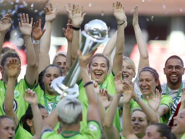 Die VfL-Frauen kommen aus dem Feiern gar nicht mehr raus