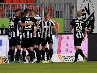 Der SV Sandhausen feiert den besten Zweitliga-Start der Vereinshistorie