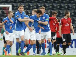 Hansa feiert einen wichtigen Auswärtssieg