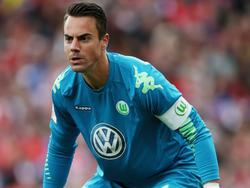 Wolfsburgs Torwart Diego Benaglio trainierte nicht