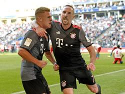 Joshua Kimmich erzielte das Goldtor für die Bayern
