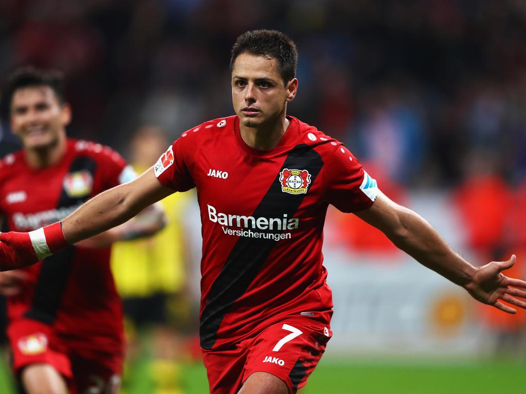 Chicharito erzielte den 2:0-Endstand für Bayer 04