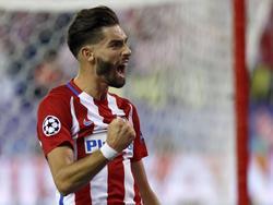 Yannick Carrasco, baja sensible en el Atlético. (Foto: Imago)