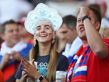 Russische Fans freuen sich auf den Confed-Cup 2017