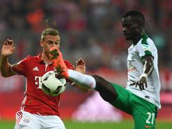 Fallou Diagne (r.) wechselt auf Leihbasis zum FC Metz