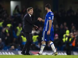 Costa (r.) steht gegen Hull City wieder in Chelseas Kader