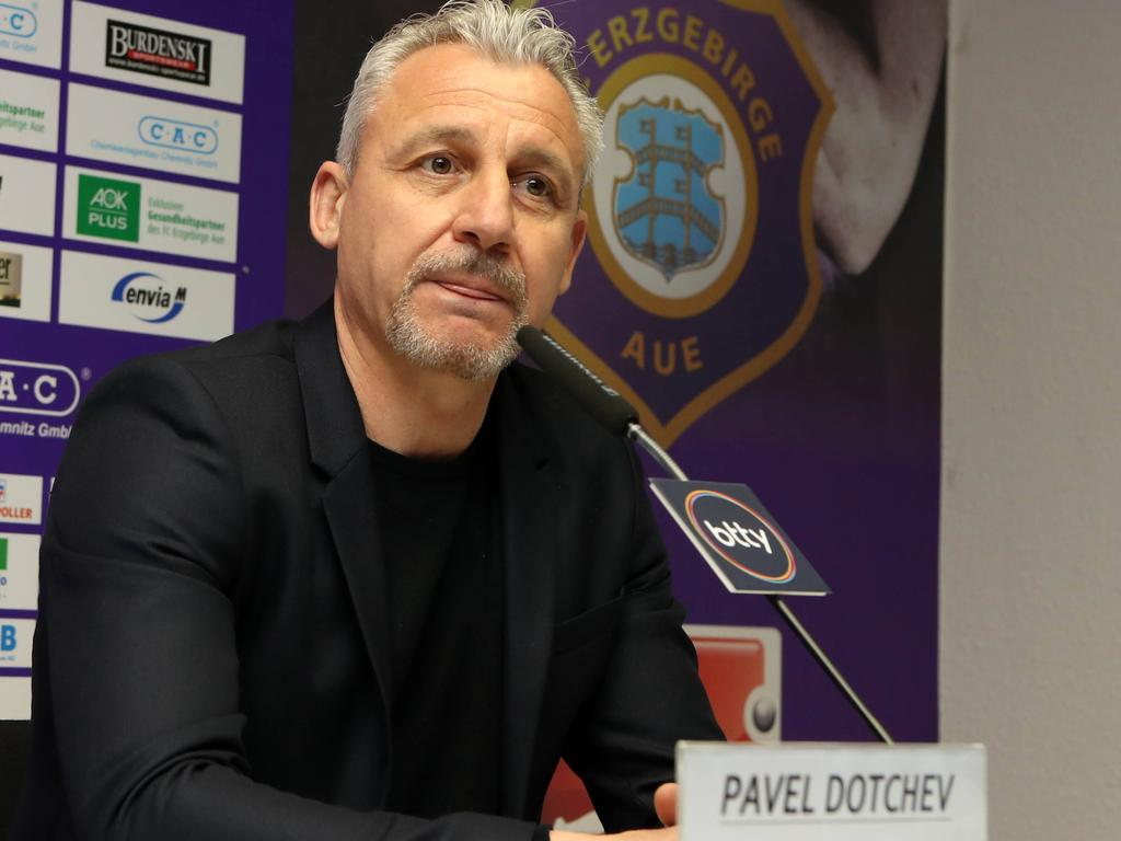 Pavel Dotchev (FC Erzgebirge Aue)
