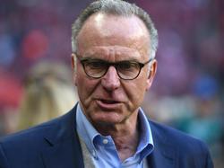 Karl-Heinz Rummenigge haderte mit der Schiedsrichterleistung