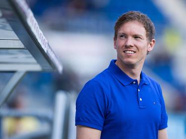 Trainer Julian Nagelsmann freut sich über eine gelungene Vorbereitung