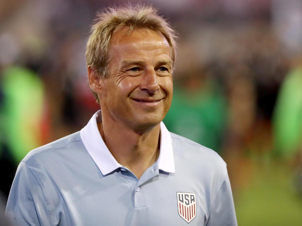 Jürgen Klinsmann konnte auch nach seiner Entlassung als US-Coach lachen