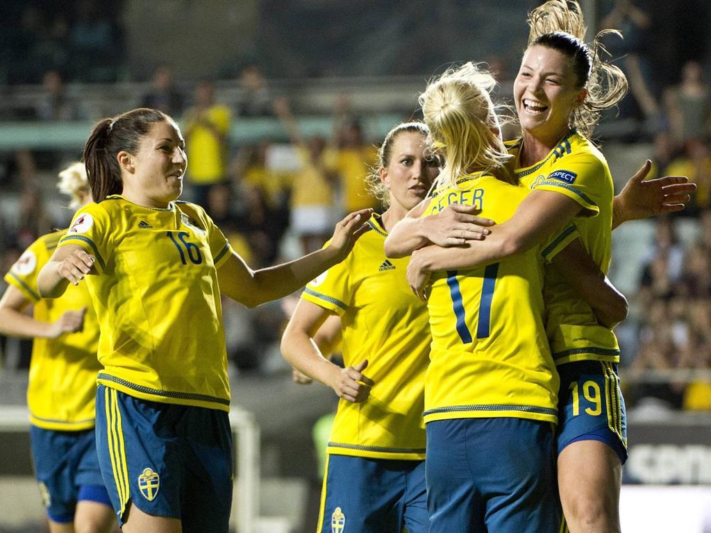 Schwedens Fußballerinnen wollen auch gegen Deutschland jubeln