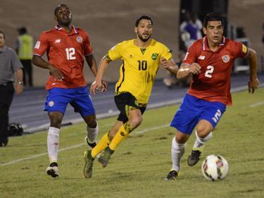 Im Duell Jamaika vs. Costa Rica gab es keinen Sieger