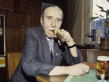Ernst Kuzorra im Jahr 1985