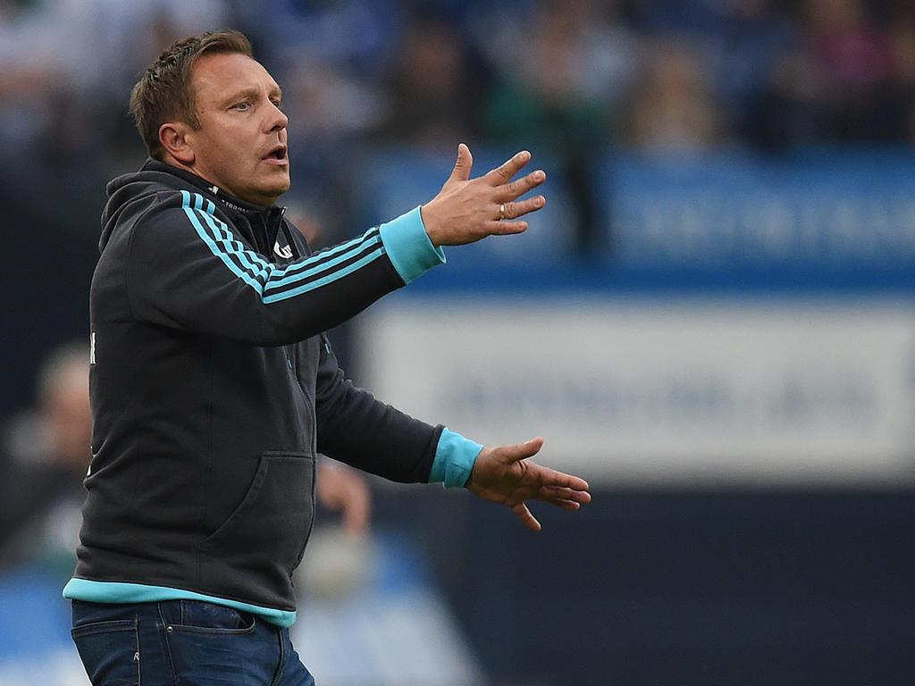 André Breitenreiter sieht keine Trainerfrage