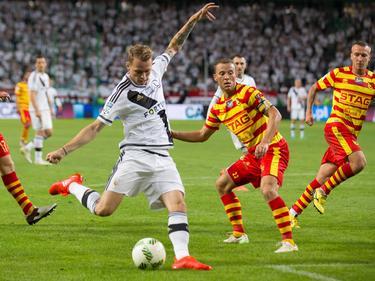 Ondrey Duda hat bereits international für Legia Warschau gespielt
