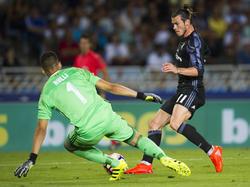 Gleich klingelt's: Bale wird auch in Zukunft Tore für Real schießen