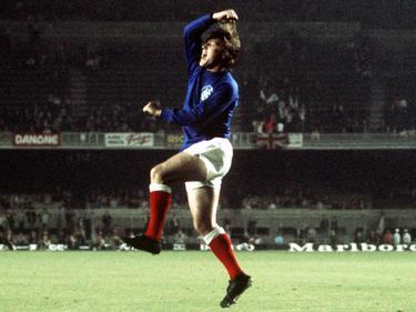 Willie Johnston - zweifacher Torschütze für die Rangers im Finale