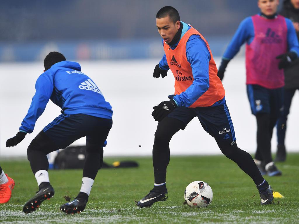 Bobby Wood ist beim HSV wieder ins Training eingestiegen
