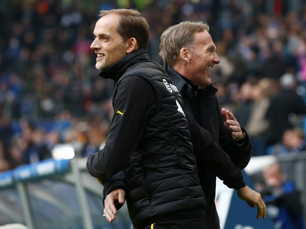 Thomas Tuchel und Hans-Joachim Watzke wollen sich am Ende der Saison zusammensetzen