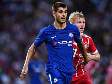 Morata no pudo anotar ningún gol en su debut con los londinenses. (Foto: Getty)