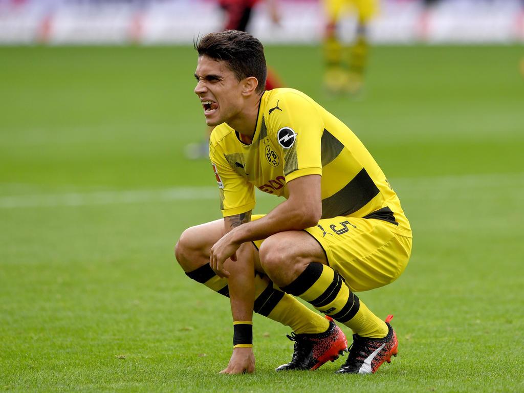 Borussia Dortmund fliegt nach London - aber ohne Marc Bartra