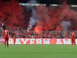 Rund um das kleine Münchner Derby ist es zu Ausschreitungen gekommen