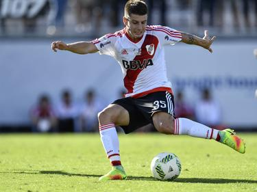 Tomas Andráde unterlage mit River Plate 0:3
